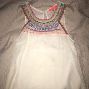 Cute embroidered top!😍💓